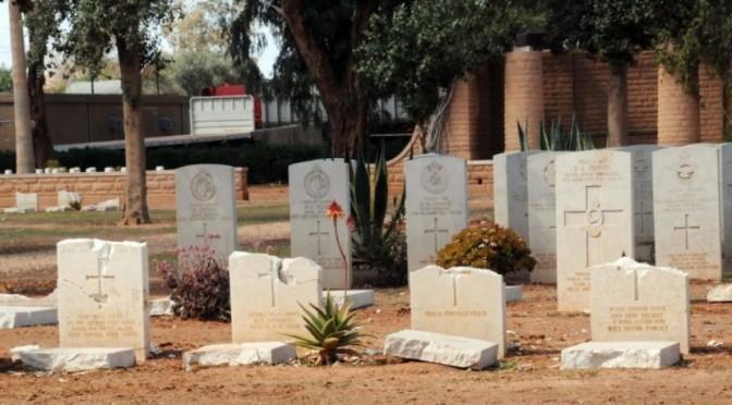 Cmentarz wojenny w Tobruku – skandal !