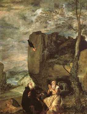 św Paweł I Pustelnik