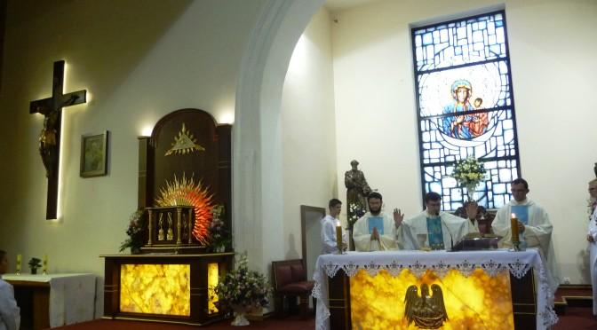 Benedykcja elementów wyposażenia Kościoła                       Św. Ap. Piotra i Pawła w Wągrowcu