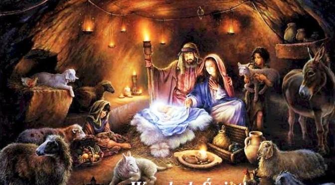 Bóg się rodzi, moc truchleje, Pan Niebiosów obnażony…..