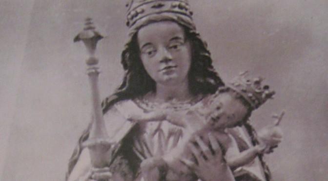 Nieznana historia losów rzeźby –  Matki Bożej z Dzieciątkiem