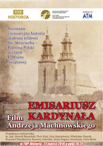 Plakat Emisariusz Kardynała