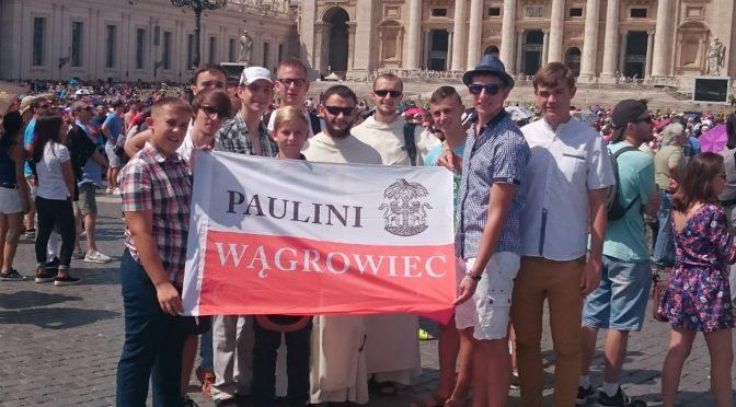 Służba liturgiczna wągrowieckich paulinów w Rzymie