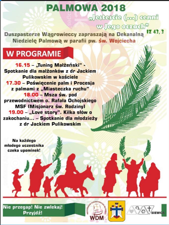 Dekanalna Niedziela Palmowa