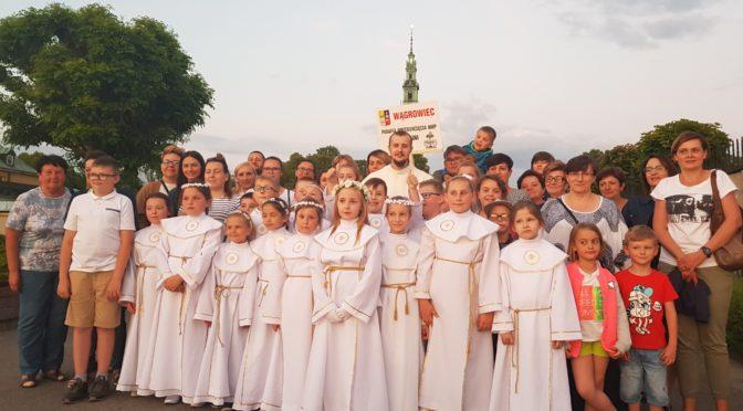 Pielgrzymowanie do Częstochowy i Leśniowa  – I Komunia Święta 2018 – relacje Rodziców