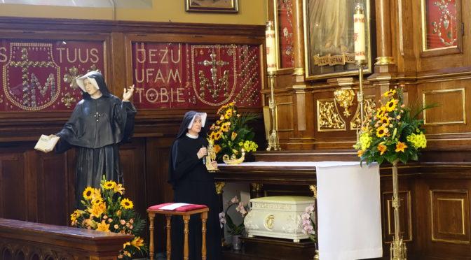 Relikwie św. Siostry Faustyny już u wągrowieckich paulinów