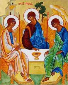 Niedziela Dzień poświęcony Trójcy Przenajświętszej. Modlitwa poranna do Trójcy Przenajświętszej